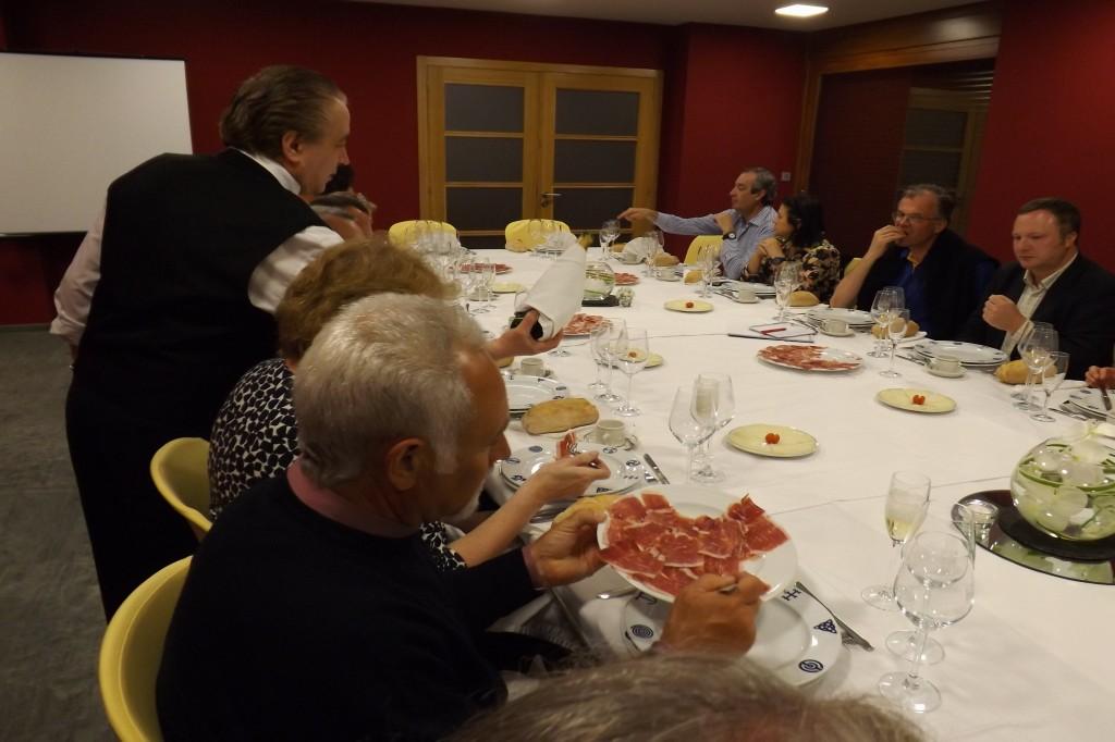 Cenando en Roandi el martes por la noche