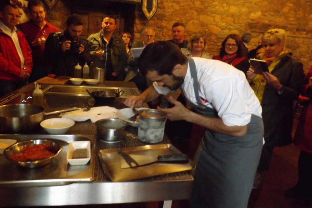 Show cooking con Alvaro Villasante