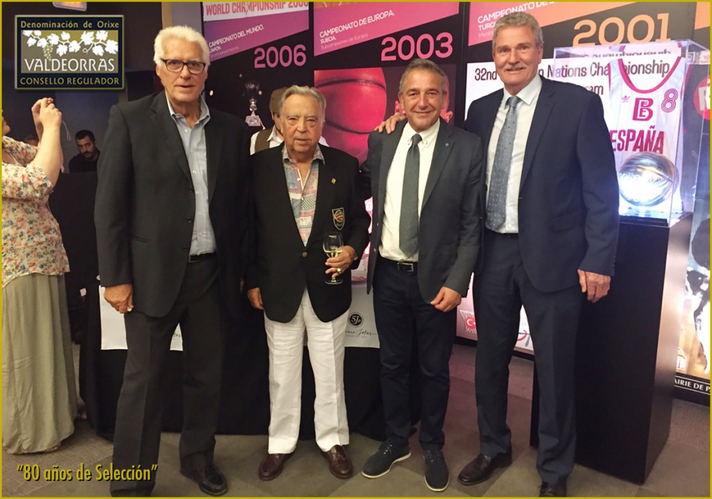 Lolo Sainz, Pedro Ferrándiz, J. Vicente Solarat and  Wayne Brabender